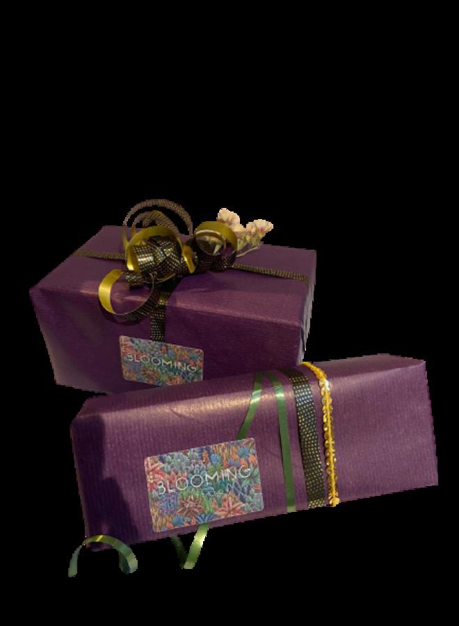 Inpakken als cadeau! (kosteloos)