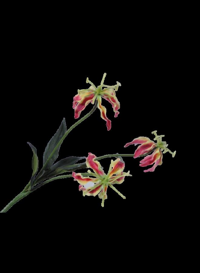 Kunstbloem Kleine Gloriosa