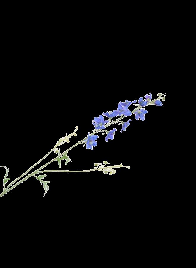 Kunstbloem Delphinium blauw