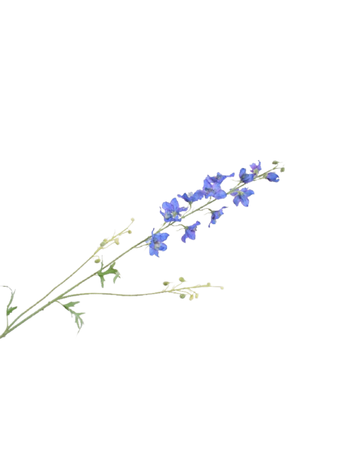 Kunstbloem Delphinum blauw