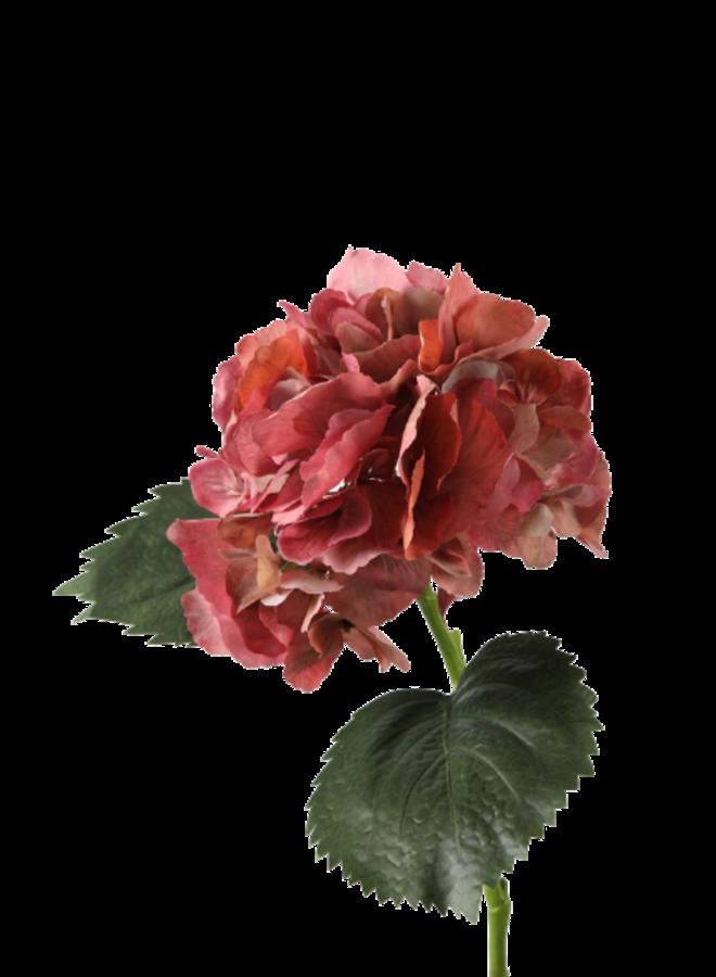 Kunstbloem Hortensia Roze