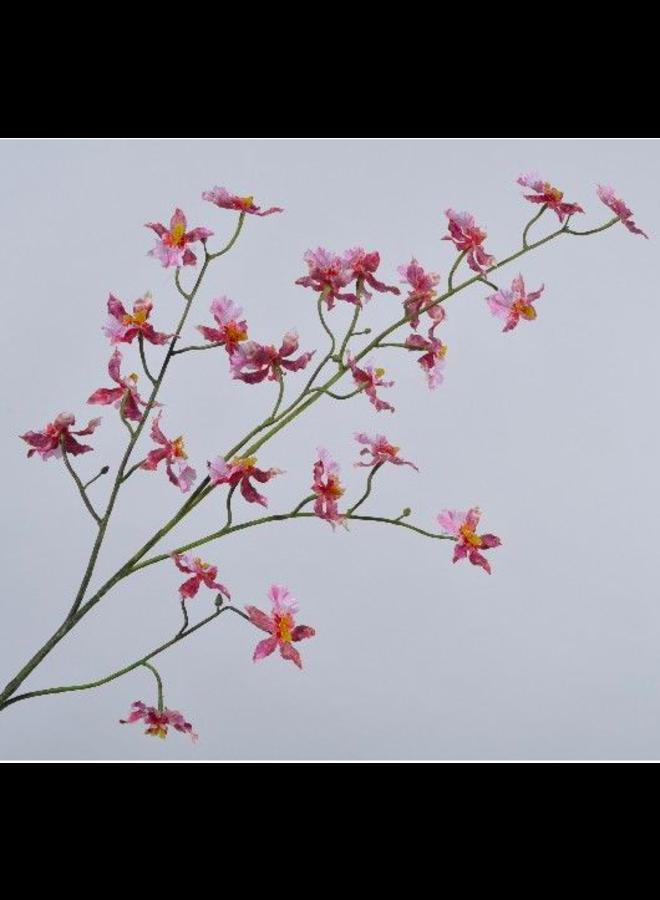 Kunstbloem Orchidee Oncidum roze