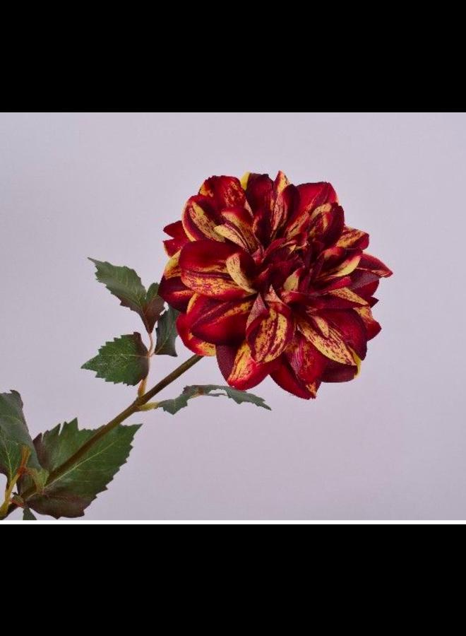 Kunstbloem Kleine Rode Dhalia