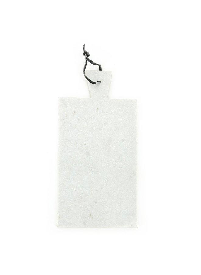 Marmeren dienblad - wit