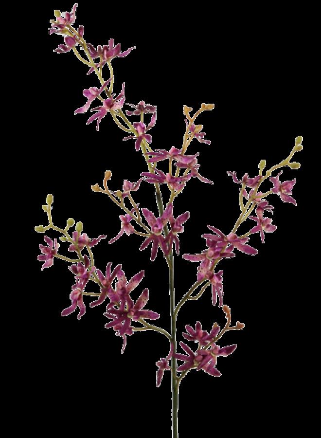 Kunstbloem Orchidee paars