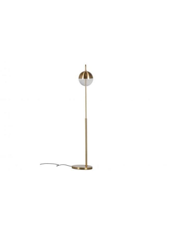 Staande lamp - goud/glas