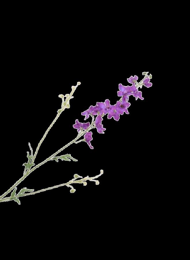 Kunstbloem Delphinium - paars
