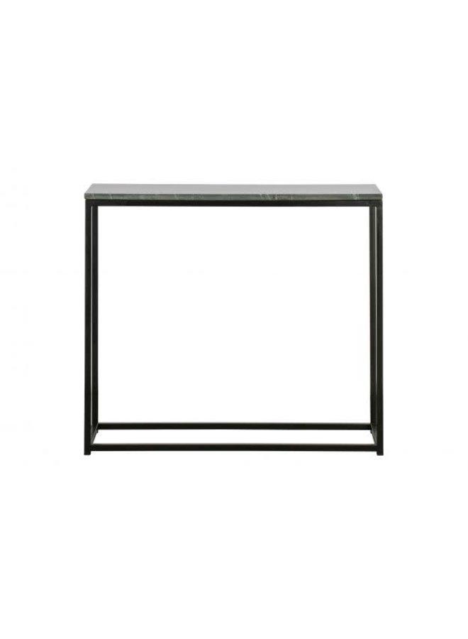 Marmer Side-table - zwart