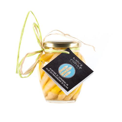 Bianca Collina Punte di asparagi bianchi in olio di oliva