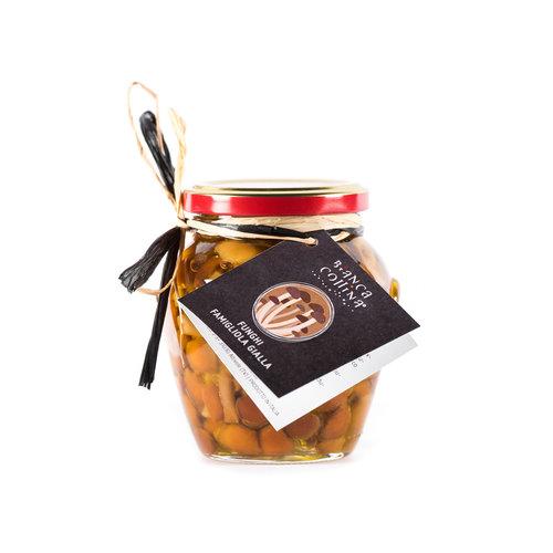 Bianca Collina Funghi Famigliola gialla (chiodini) sott'olio extravergine d'oliva - 314 ml