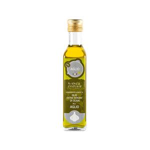 Bianca Collina Condimento a base di olio extra vergine al aglio