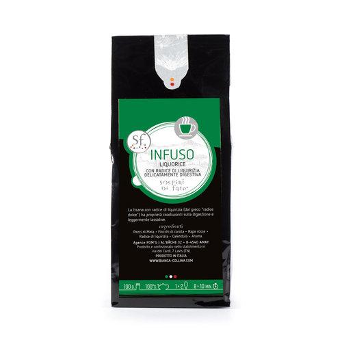 Sospiri di Fate Infuso Liquorice - Aromatica digestiva - 100 g