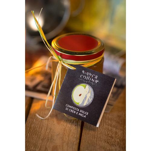 Bianca Collina Composta di cren e mela - 212 ml