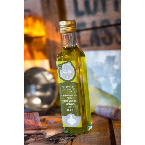 Bianca Collina Condimento a base di olio extra vergine al aglio - 250 ml