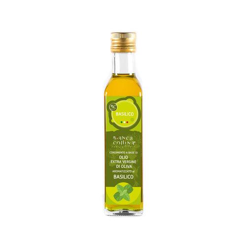 Bianca Collina Condimento a base di olio extra vergine al basilico - 250 ml