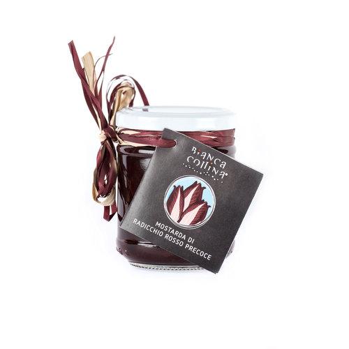 Bianca Collina Mostarda  di radicchio rosso  precoce - 220 g