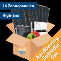 Aardbeving Set High-end (16 stuks / 5100 kwh)