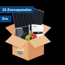 Set Eco Zonnepanelen (20stuks / 5695 kwh)
