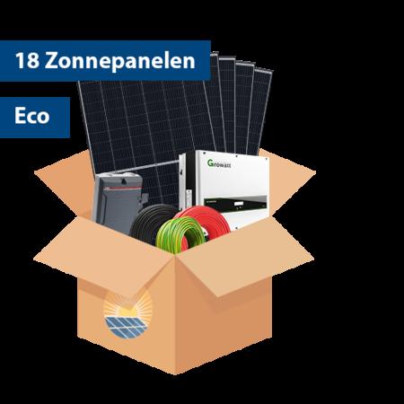 Set Eco Zonnepanelen (18 stuks / 5125kwh)