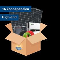 Set High-end Zonnepanelen (16 stuks / 5100 kwh)