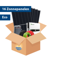 Set Eco Zonnepanelen (16 stuks / 4556 kwh)
