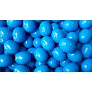 Ovale capsule Blauw 6cm