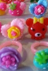 Girly ring pink