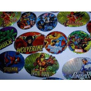 Marvel stickers