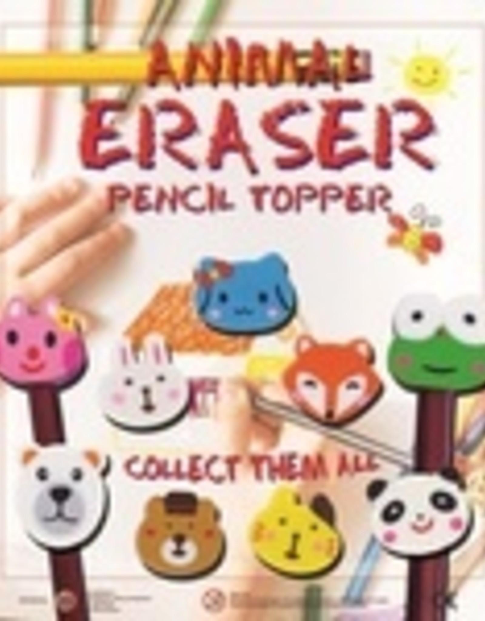 Animal Eraser Pencil topper