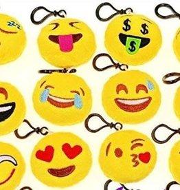 Emoji soft toy clip