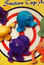 Kleurige zuignap-figuurtjes