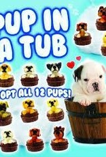 Pup in a Tub