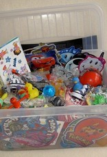 Speelgoed uitdeelbox