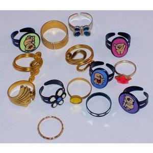 Ringen Mix in capsule navulling speelgoedautomaat