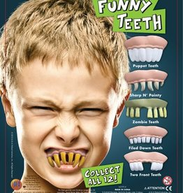 Funny teeth (Dwayne) in 50 mm capsule