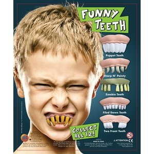 Funny teeth
