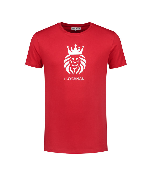 Huychman BRAND T-SHIRT RED