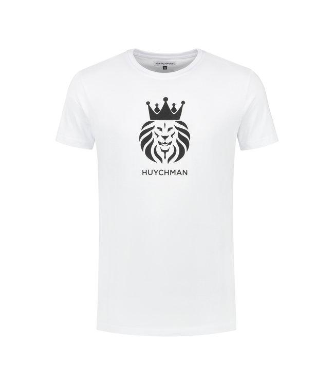 Huychman BRAND T-SHIRT WHITE