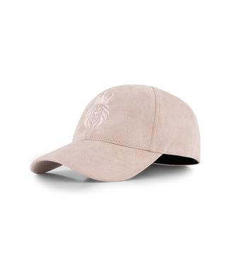Huychman BRAND LOGO CAP DUSTY PINK