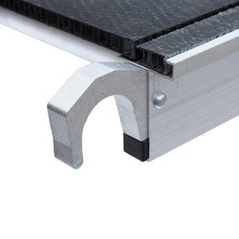 Lichtgewicht platform met luik 190 cm