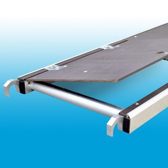 Euroscaffold Rolsteiger platform Euroscaffold 190 cm met luik