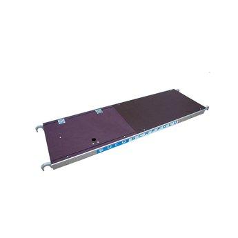 Rolsteiger platform 190 cm met luik