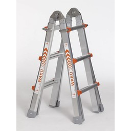 Multifunctionele ladder Wakü 4x3