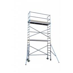 Euroscaffold Rolsteiger Basis 90 x 305 x 5,2 meter werkhoogte met extra platform