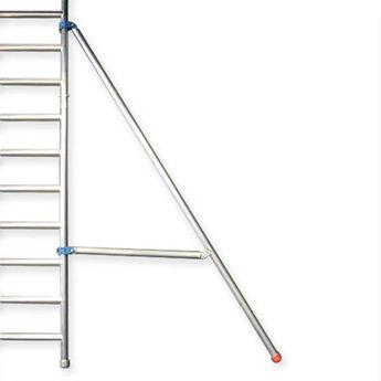 Euroscaffold Rolsteiger Euro 135 x 305 x 6,2 meter werkhoogte met voorloopleuning enkel
