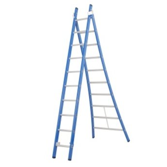 Tweedelige ladder Premium 2x8