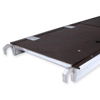Kamersteiger Euroscaffold werkhoogte 3,0 meter platform met luik  met rolsteigerwielen 200 mm