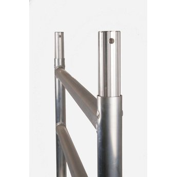 Rolsteiger Basis 75 x 305 x 10,2 meter werkhoogte met lichtgewicht platform
