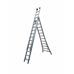 Driedelige ladder 3x7 Maxall Basic