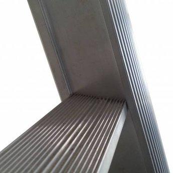 Enkele ladder 1x20 Maxall recht met stabiliteitsbalk